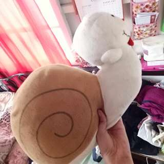 Snail pillow stuffed toy