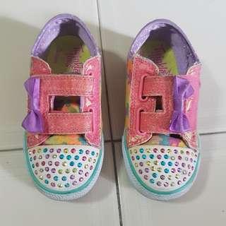 Preloved Sketchers shoes for girls