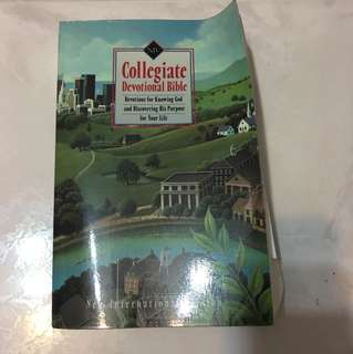 Collegiate Devotional Bible