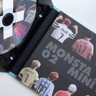 monsta x — 2nd mini album rush [secret version]