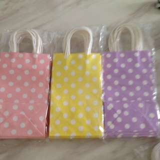 Colorful paper bag