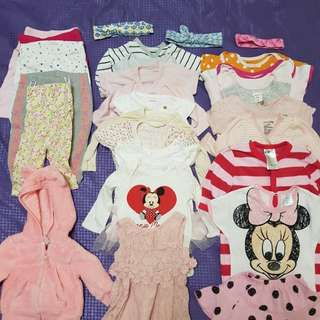 Girl Clothes for newborn 0-3 months
