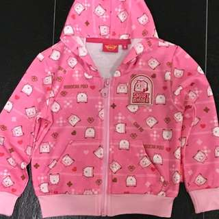 Brand new Robocar Pink Jacket with Hood