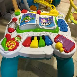 Rarely used leap frog activity table