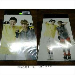 [RARE] EXO Baekhyun & Chanyeol Postcard
