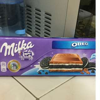 Milka & Oreo Chocolate (300grams)