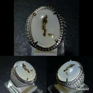 Cincin Batu Dendrite unik