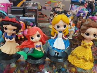 Disney princesses figures