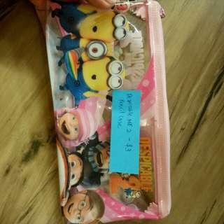 Despicable me 2 pencil case