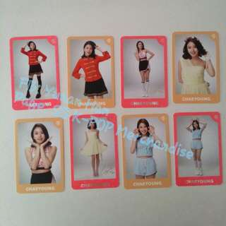 Chae Young Twice Twiceland Photocard Set