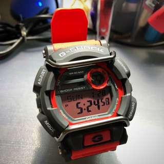 Casio G-Shock Red 3434*JA (Japan Model) a.k.a GD-400-4