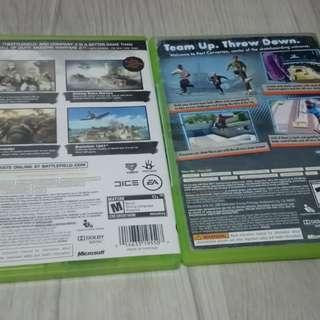 Unused Xbox 360 Games