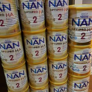 READY STOCK NAN OPTIPRO 2 HA GOLD 800 GRAMS AND NAN OPTIPRO 2 HA 400 GRAMS. Open to swap with Nan Optipro 2 Gold or Nan Optipro 3 Gold