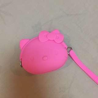 NEW! Hello Kitty Jelly Coin Purse