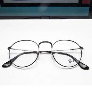 RAY BAN ROUND METAL OPTICS Model code: RB3447V 2503 50-21  Frame material: Metal  Frame color: Black