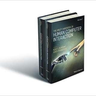 The Wiley Handbook of Human Computer Interaction Set 1st Edition BY Kent Norman (Editor), Jurek Kirakowski (Editor)