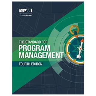 Standard for Program Management 4th Edition BY Project Management Institute