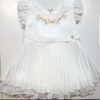 Baby Girl white dress