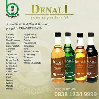 Syrup Denali 750ml All Variant