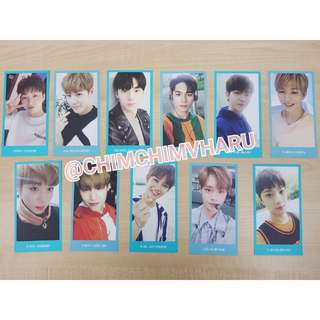 Wanna One Official Wannable membership photocard (Ready Stock)
