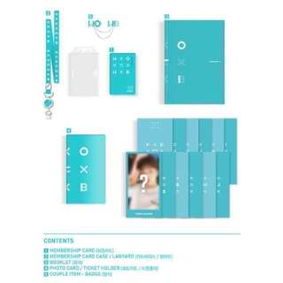 Wanna One fan club membership kit(整套除了會員卡)