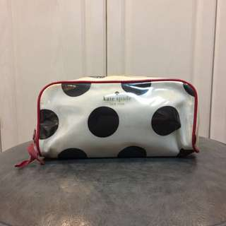Kate Spade Make Up Pouch (Authentic - well used)