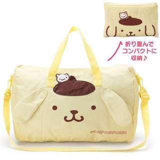 Sanrio - 布丁狗折疊式大型旅行袋