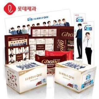 🚚 Ghana×Yo-Hi超值限量禮盒Wanna One朴志訓韓國周邊餅乾加納