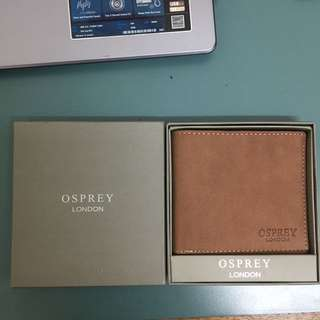 Authentic Genuine Leather Osprey London Wallet