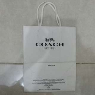 Paperbag / Paper Bag / Tas Karton Branded Coach Small