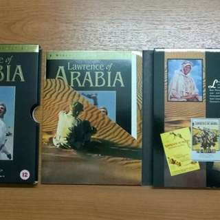 Lawrence of Arabia Special Edition DVD release
