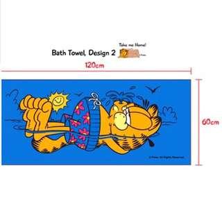 Garfield Run towel official merchandise
