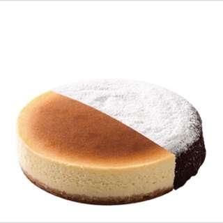 🔥代購6寸橘村屋比利時頂級73%純苦巧克力+經典重乳酪