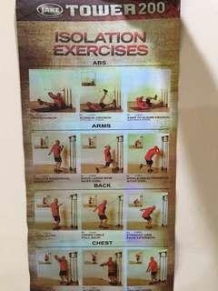 isolation exercise