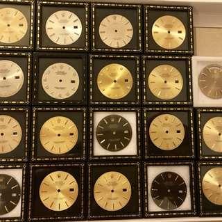 Rolex dials