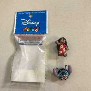 Disney Jibbitz LILO and Stitch shoe charms for Crocs