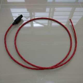 2m Belden 83803 power cable