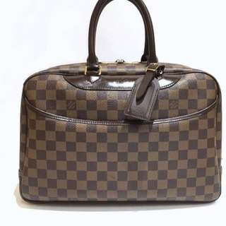 Authentic Louis Vuitton Deauville Damier