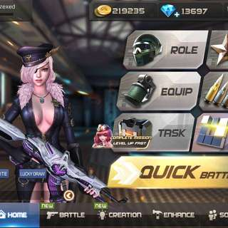 Crisis Action Account VIP 11 ( fast deal $120)