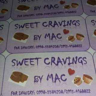 Sweet Cravings by Mac (made to order)