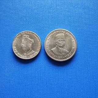 Old Malaysia $1 1959-1969  $5 1971
