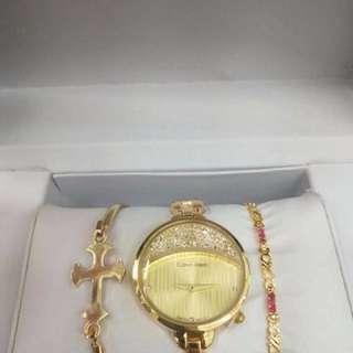 CK Calvin Klein Watch Set