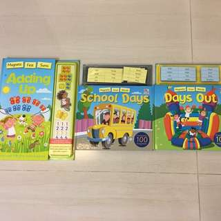 Three BN Magnetic Books