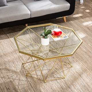 Modern Style Geometric Coffee Table /Side Table