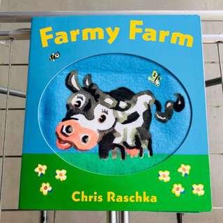 baby cloth book - farmy farm (for textures)