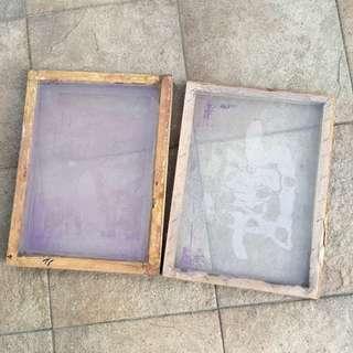 Silk Screen Frame (Wood) 30x40cm