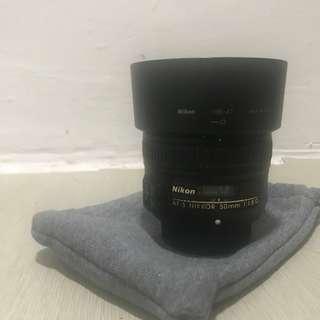 Nikon Lens NIKKOR 50mm 1.8g