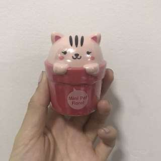 The Face Shop Lovely Meex Mini Pet Floral Hand Cream