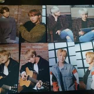 BTS×MEDIHEAL小卡 (V&JK hold)