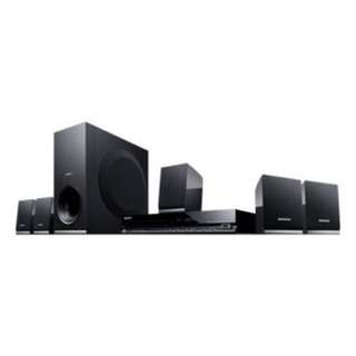 Barely used Sony DVD home theatre system dav-tz140